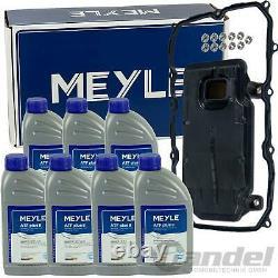 100 137 0010 Meyle Getriebefilter 8 Gang Automatik +7l Meyle Atf Öl Q7 Touareg