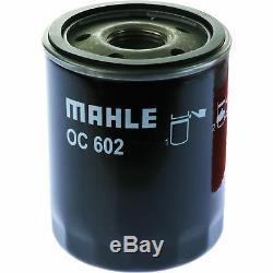 10x Original MAHLE / KNECHT Ölfilter OC 602 + 10x SCT Motor Flush Motorspülung