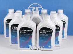 12 Liter GETRIEBEÖL Original ZF LifeGuardFluid 6 Automatikgetriebe 6HP