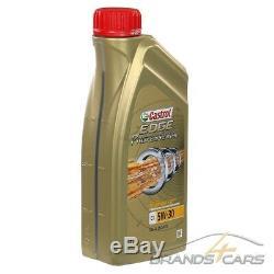 12x 1 L LITER CASTROL EDGE PROFESSIONAL TITANIUM FST C1 5W-30 MOTOR-ÖL 31853583