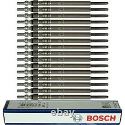 16X Original BOSCH Glühkerzen 0 250 203 004 Duraterm