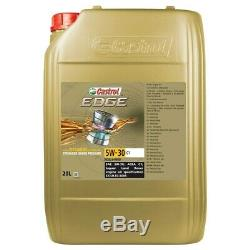 20 L Liter Castrol Edge Fluid Titanium 5w-30 C1 Motor-öl Motoren-öl 50000217
