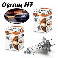 2x Osram H7 55W 12V PX26d 64210 Clear White Original Line Headlight Auto Lampe