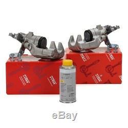 2x TRW Bremssattel + ORIGINAL VAG Bremsflüssigkeit AUDI A3 8P VW GOLF 5 6 hinten