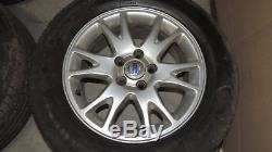 4 Original Volvo Alufelgen BORBET 7Jx16H2 mit Reifen VOLVO, JAGUAR, LAND ROVER
