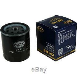 40x Original SCT Ölfilter SM 143 + 40x SCT Motor Flush Motorspülung