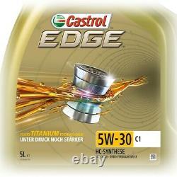 4x 5 L = 20 LITER CASTROL EDGE FLUID TITANIUM 5W-30 C1 MOTOR-ÖL 50003134