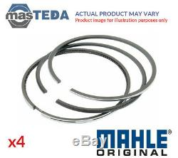 4x MAHLE ENGINE PISTON RING SET 007 RS 00106 0N0 G STD NEW OE REPLACEMENT