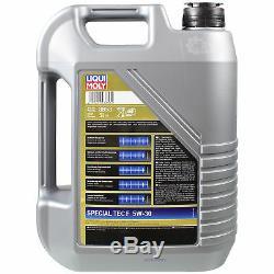9L Liqui Moly Special Tec F 5W-30 Motoröl Öl-Schlamm-Spülung Cera Tec
