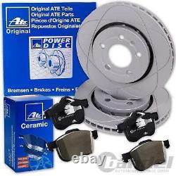 Ate Powerdisc Bremsscheiben + Ceramic Beläge Vorne Für Ford Mondeo 4 IV Ba7
