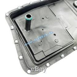 Automatikgetriebe Ölwanne Ölwechsel inkl 12L ATF Ölservice für BMW 5er E60 ZF