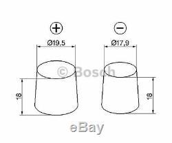 BOSCH Starter Battery S3 0 092 S30 050
