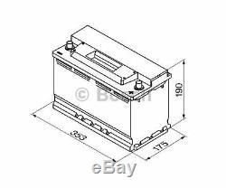 BOSCH Starter Battery S3 0 092 S30 130
