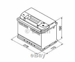 BOSCH Starter Battery S5 0 092 S50 080