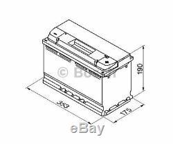 BOSCH Starter Battery S5 0 092 S50 130