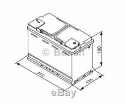 BOSCH Starter Battery S5A 0 092 S5A 110