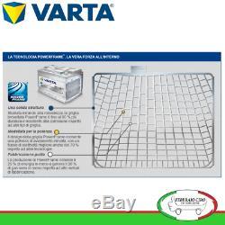 Batterie Varta 100Ah 12V Silber Dynamic H3 610 402 092