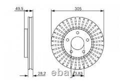 Bosch Bremsscheibe Für Jaguar 99-15