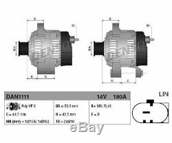 DENSO DAN1111 Generator für Jaguar XF XF Sportbrake Land Rover