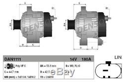 DENSO Generator DAN1111 für JAGUAR LAND ROVER