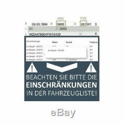 Druckschalter, Bremshydraulik Bosch VW Polo 9N, Passat 3B3,3B6,3B2, Variant