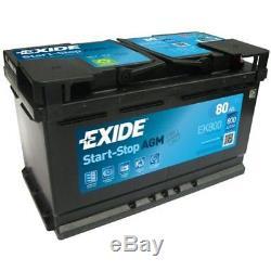 EXIDE Starter Battery Start-Stop AGM EK800