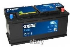 Exide Starterbatterie Für Alpina Audi Bmw Citroen Fiat Iveco Land Rover Nissan