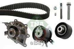 INA Wasserpumpe + Zahnriemensatz 530 0489 30 für FORD S-MAX WA6 MONDEO 4 BA7 2.2