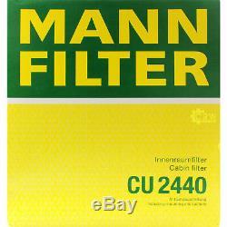 INSPEKTIONSKIT FILTER LIQUI MOLY ÖL 5L 5W-30 für Volvo V50 MW 1.6 D C30 MS Ford