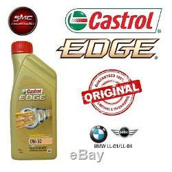 Inspektionskit L Castrol Edge 0w30 5 Lt 4 Filter Bosch Bmw 320d 100kw 204d1