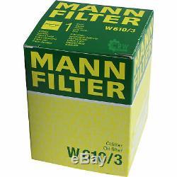 Inspektionspaket 6 L Liqui Moly TopTec 4200 5W-30 + MANN Filterpaket ASX 9801836