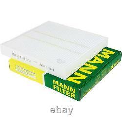 Inspektionspaket 7 L Liqui Moly TopTec 4200 5W-30 + MANN Filterpaket ASX 9801410