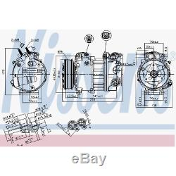 Kompressor Klimaanlage Nissens 890124