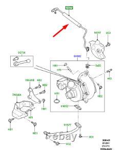 LAND ROVER DISCOVERY L319 Ölzuleitung LR014428 Neu Original