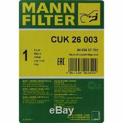 LIQUI MOLY 7L TopTec 4200 5W-30 Motoröl MANN-FILTER Paket für Jaguar S-Type CCX