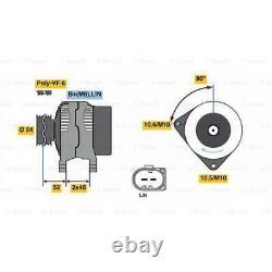 Lichtmaschine Generator BOSCH (0 986 081 400)