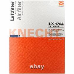 MAHLE / KNECHT Set Inspección Set Filtros SCT lavado del motor 11614587