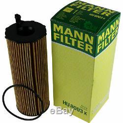 MANN-FILTER Paket + Presto Klima-Reiniger für Land Rover Range Sport LS