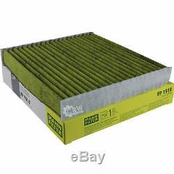 MANN-Filter Inspektions Set Öl- Luft- Kraftstoff- Pollenfilter MOLKI-10225574