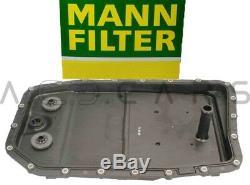 MANN Getriebeölwanne 8L ZF LifeGuardFluid Automatikgetriebe 6HP26/28/32 Stecker