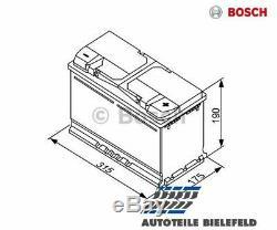 NEU BOSCH Starterbatterie S4 0092S40110 für Audi A6 Avant A4 Avant A6 A4 TT