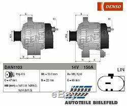 NEU DENSO Generator DAN1103 für Jaguar XF F-Type Cabriolet F-Type Coupe XJ XE