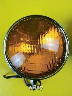 NEU Satz Fernscheinwerfer Universal Zusatzscheinwerfer Nebelscheinwerfer gelb