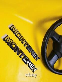New + Original Vauxhall Monterey Emblem + Steering Wheel For Work On