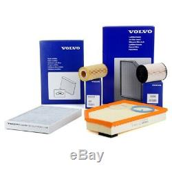 ORIGINAL Volvo Inspektionskit S80 II V70 III XC60 XC70 II 2.4 D / D4 D5