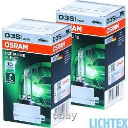 OSRAM D3S 66340ULT ULTRA LIFE Xenarc Xenon Scheinwerfer Lampe NEU