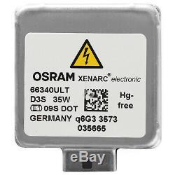 OSRAM D3S 66340ULT ULTRA LIFE Xenarc Xenon Scheinwerfer Lampe NEU DD