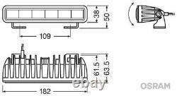 OSRAM Fernscheinwerfer LEDDL105-SP für