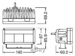 OSRAM LEDriving LED Arbeits & Zusatzscheinwerfer Compact MX140-SP LEDDL102-SP