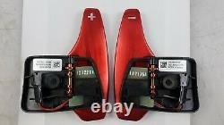 Original JAGUAR XK E-Pace RANGE ROVER Evoque Sport Schaltwippen Rot T2R6547CAY